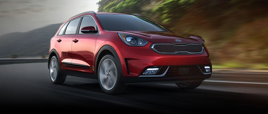 2017 Kia Niro Crimson Red