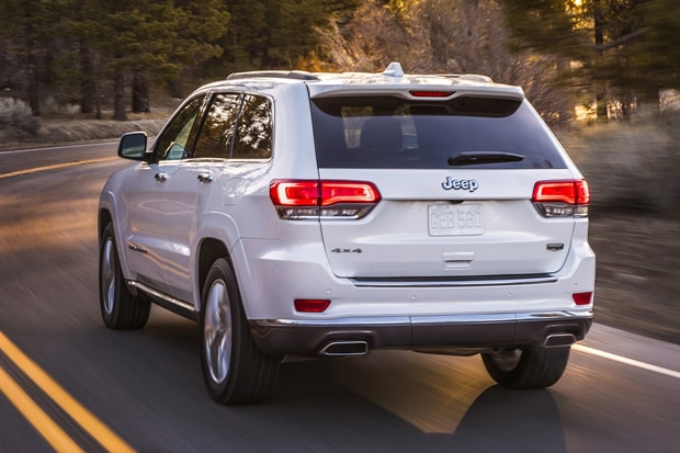 2020 Jeep Grand Cherokee Body Lines