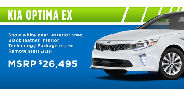 2018 Kia Optima EX Snow White