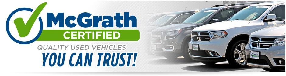 Certified Used Cars >> Mcgrath Certified Used Cars Trucks Mcgrath Auto Cedar Rapids Ia