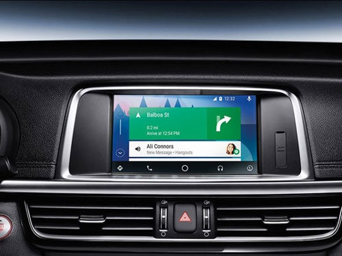 Android Auto in the Kia Optima