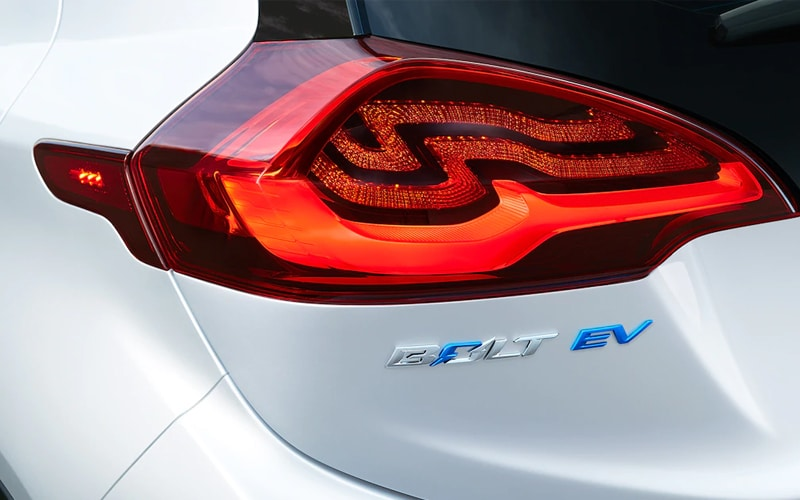 2019 Chevy Bolt Rear Taillights