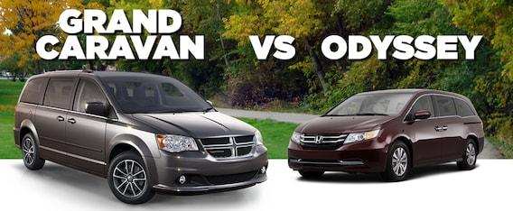 dodge grand caravan vs honda odyssey Dodge Grand Caravan vs Honda Odyssey  Pat McGrath Chrysler Jeep