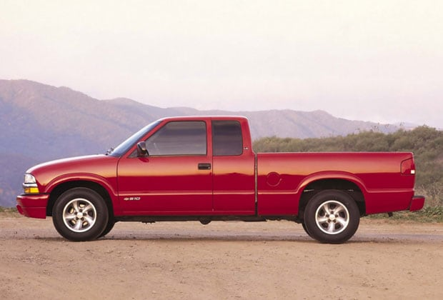 Red Chevy S-10
