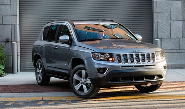 Jeep Compass Front Angle