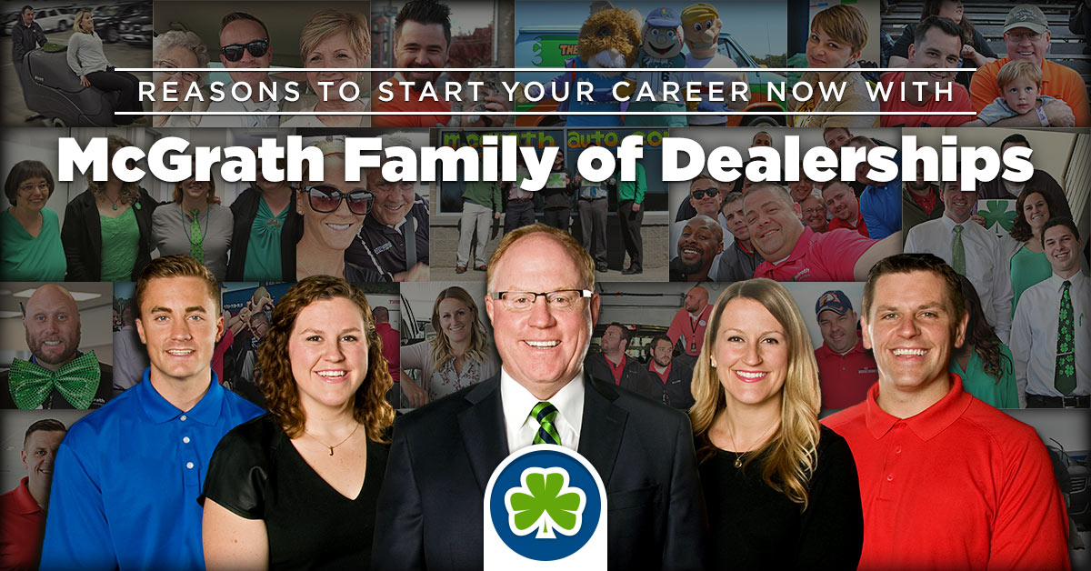 Mcgrath Cedar Rapids >> Why Work For Mcgrath Here S Why Jobs In Cedar Rapids Dubuque