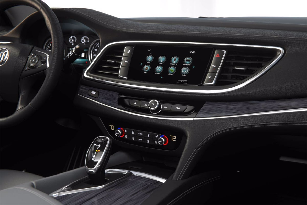 2018 Buick Enclave touch screen display