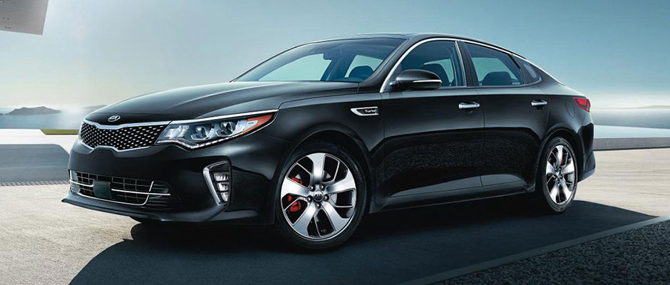 Black 2018 Kia Optima S