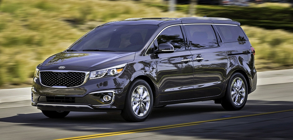 Kia Sedona exterior color options