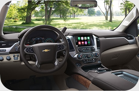 Chevy Tahoe Infotainment System