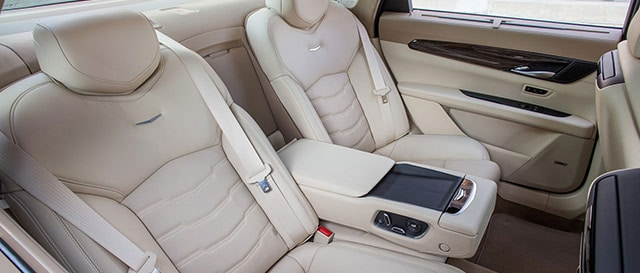 Cadillac CT6 Tan backseat Interior