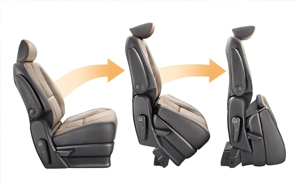 2019 Kia Sedona slide-n-stow seating