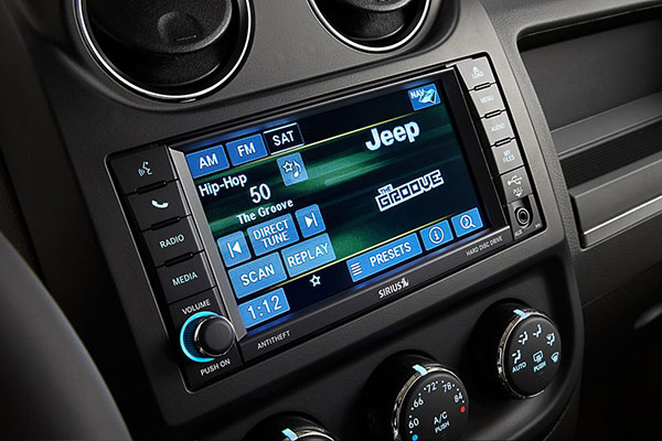 Jeep Patriot Technology Features