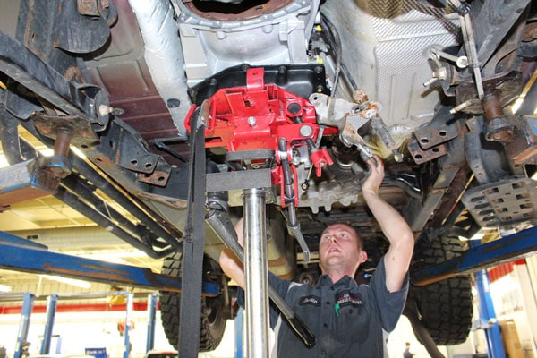 Service Technicians at McGrath Auto