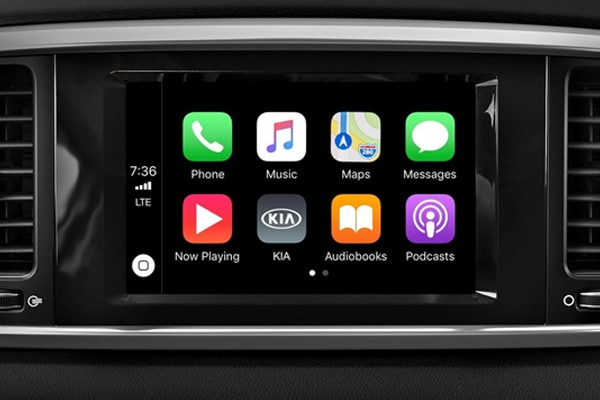 Standard Apple CarPlay and Andriod Auto are the best way to intergrate your phone to your car