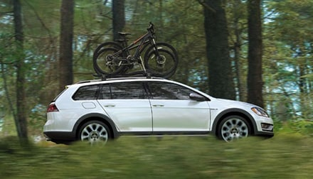 2017 Golf Alltrack Bike Rack