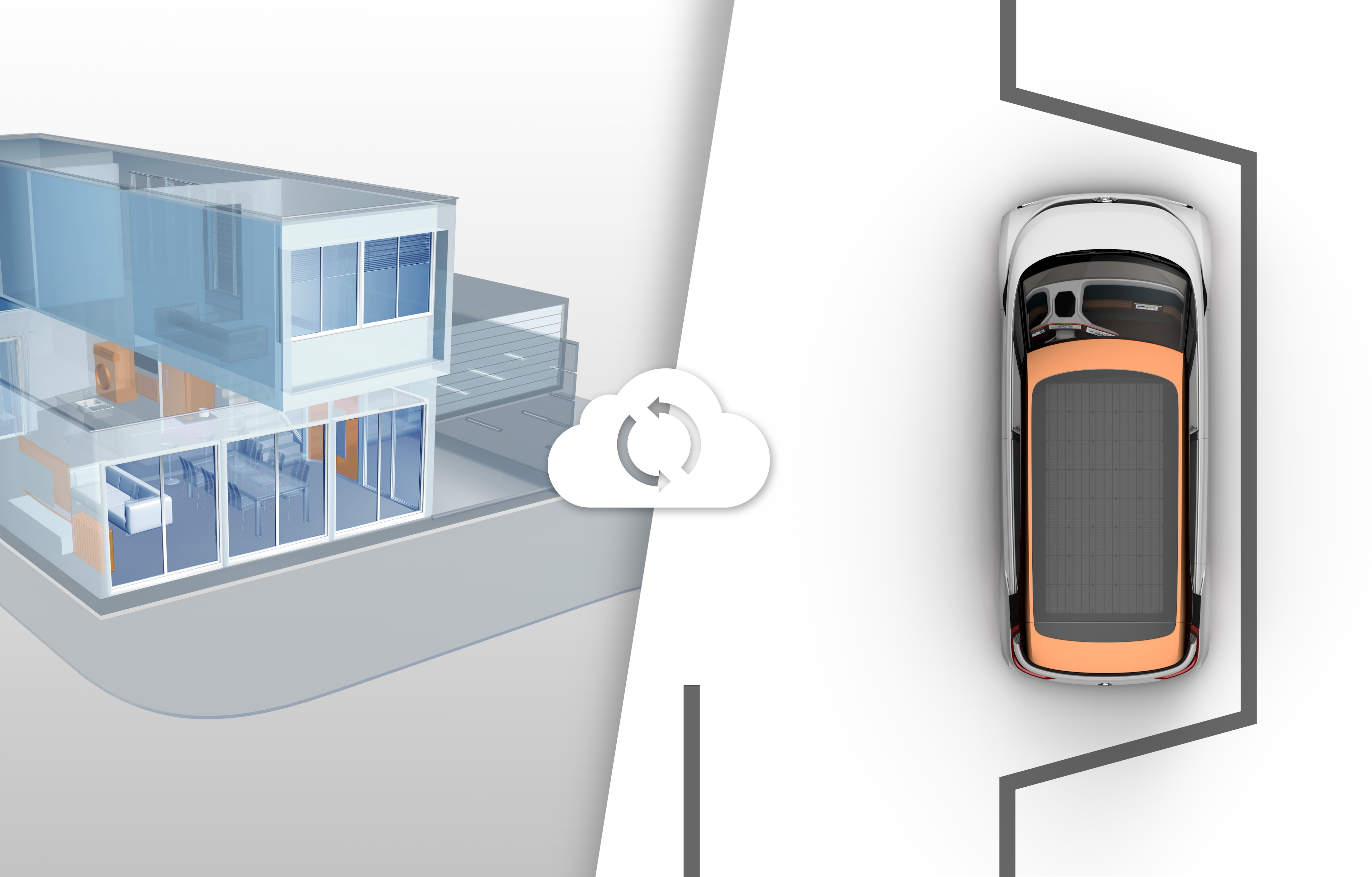 Volkswagen BUDD-e Connect to Work and Smart Home