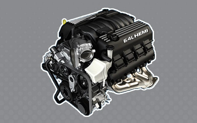 2016 Jeep Grand Cherokee Stnadard Engine