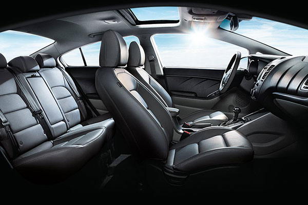 Kia Forte Interior Seating