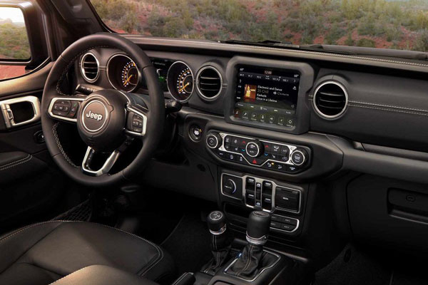Technology in the Wrangler