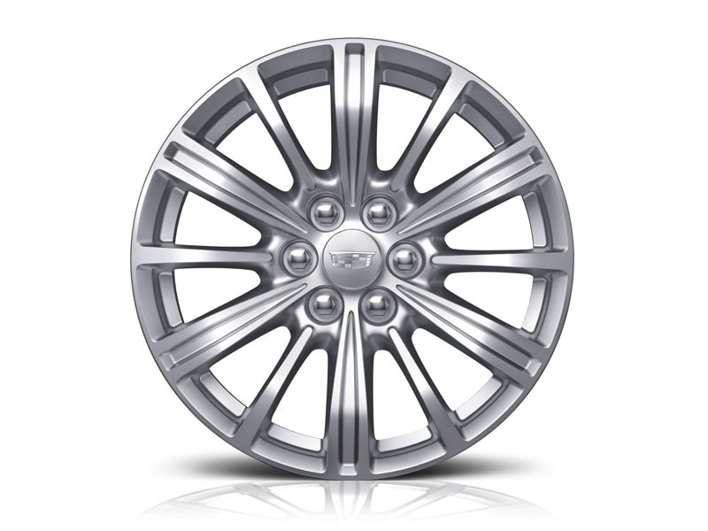 20-inch Aluminum with Ultrabright Machined Finish with Midnight Silver Accents - Available on XT5 Luxury & Premium Luxury