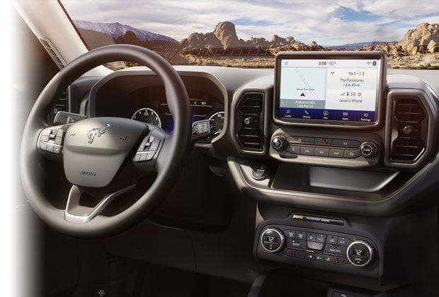 Technology in the Ford Bronco Sport