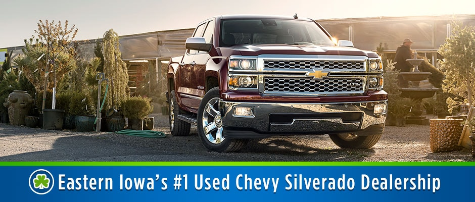 Used Chevy Silverado For Sale >> Used Chevy Silverado Chevy Truck Dealer Cedar Rapids Iowa City