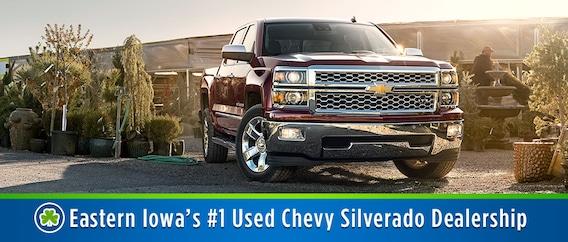 Used Chevy Silverado For Sale >> Used Chevy Silverado Chevy Truck Dealer Cedar Rapids Iowa