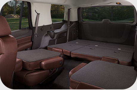 Chevy Tahoe Fold Flat Seating
