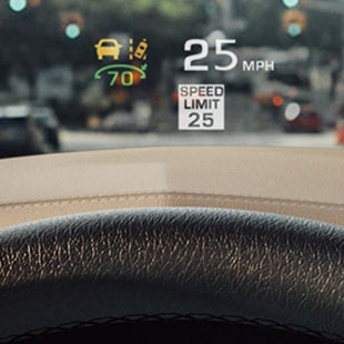 2017 Cadillac XT5 Head Up Display Technology