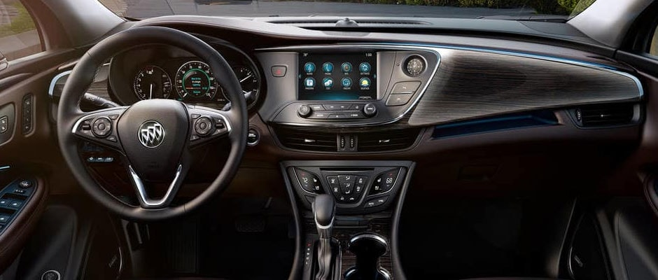 Front Dash in the Buick Envision