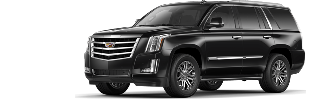 Side profile of the Escalade