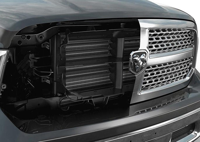 Active Grille Shutters on the Ram 1500