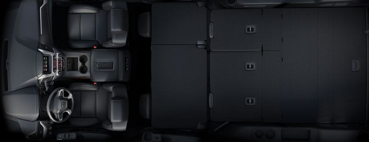 GMC Yukon Folded Seats