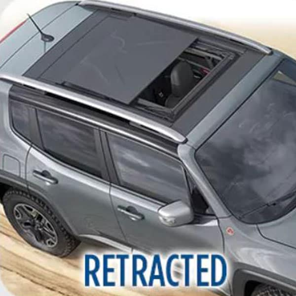 Jeep Renegade Retracted Roof