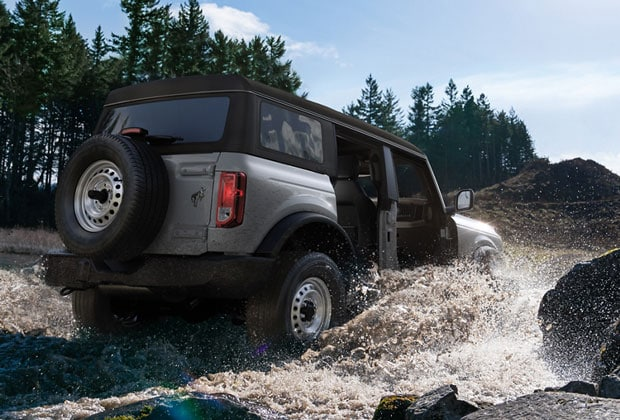 Ford Bronco Water Fording