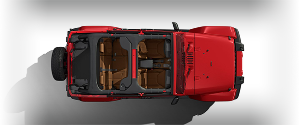 2017 Jeep Wrangler Unlimited No Top