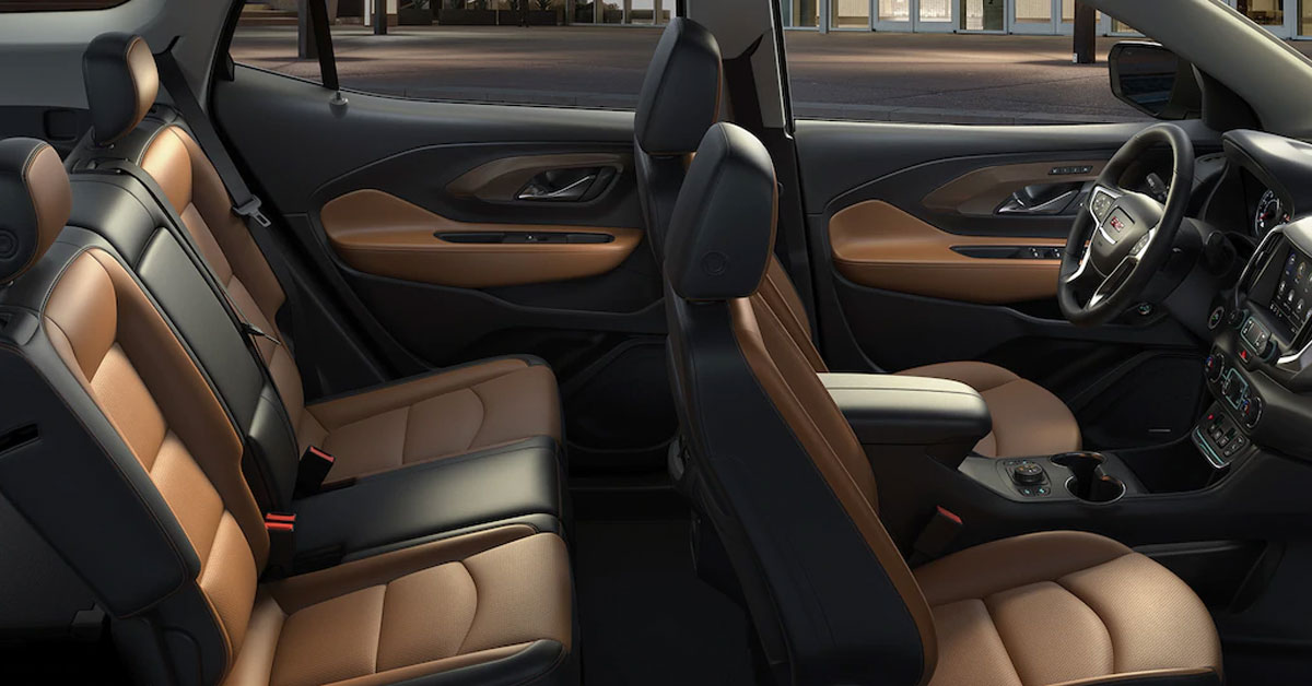 2019 GMC Terrain Interior Seating