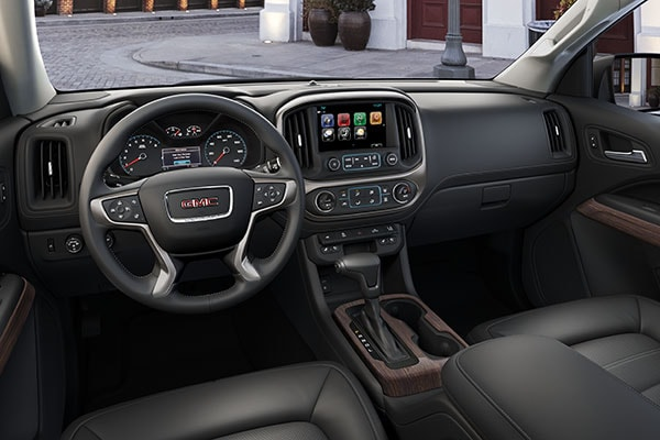 GMC Canyon Technology features