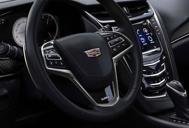 Steering wheel and Cadillac Cue