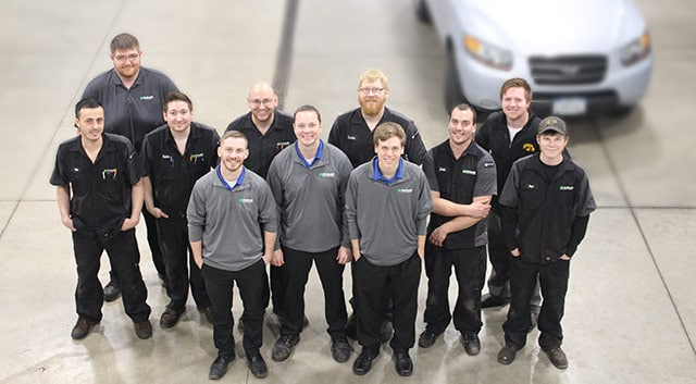 McGrath Auto Service Team Photo