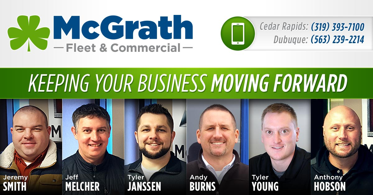 McGrath Commercial Fleet Trucks in Cedar Rapids Iowa