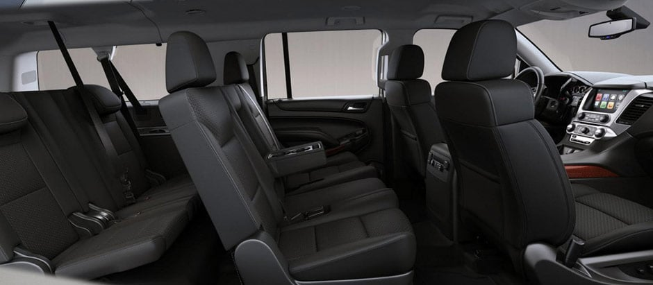 Yukon XL Black Interior Side View