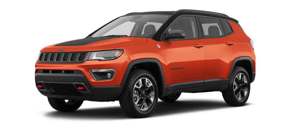 Orange 2018 Jeep Compass