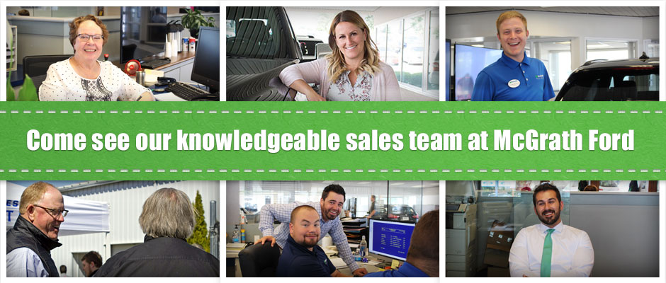 Sales Team at McGrath Ford