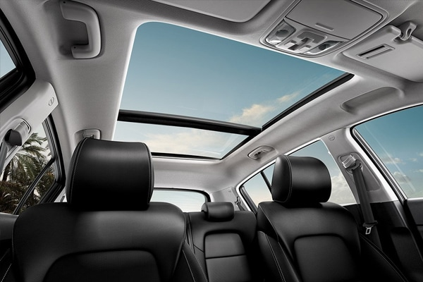 Available Panoramic Sunroof