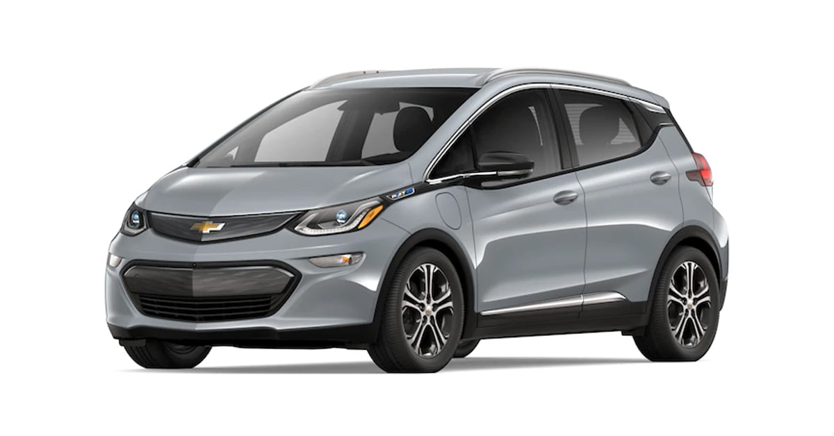 2019 Chevy Bolt Slate Gray