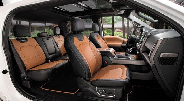 2016 f150 interior seating