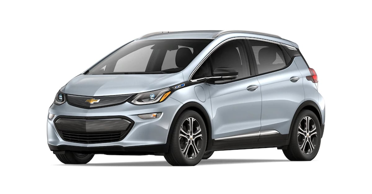 2019 Chevy Bolt Silver Ice Metallic