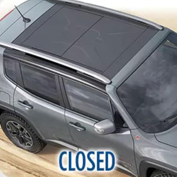 Jeep Renegade Closed Roof